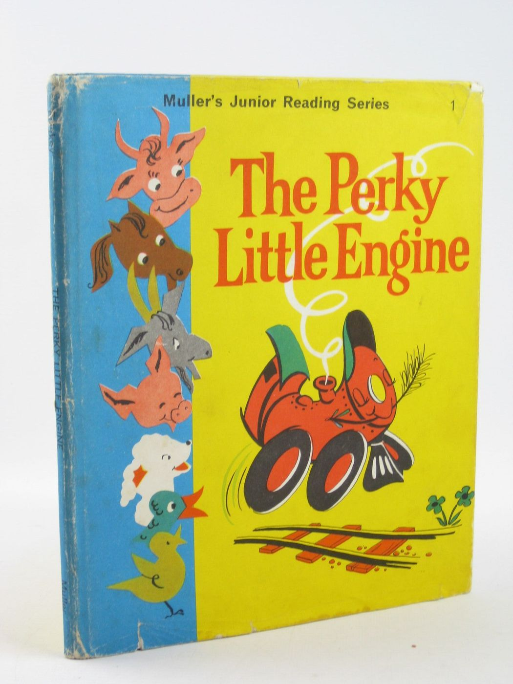 Photo of THE PERKY LITTLE ENGINE written by Friskey, Margaret illustrated by Becky, published by Frederick Muller Limited (STOCK CODE: 1402174)  for sale by Stella & Rose's Books