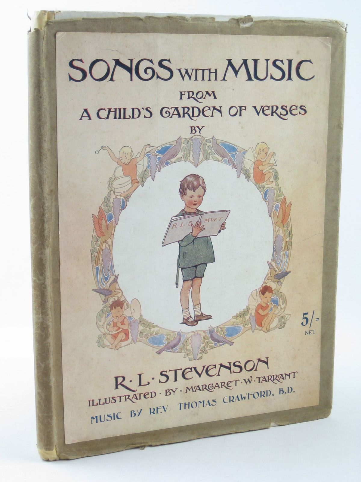Photo of SONGS WITH MUSIC FROM A CHILD'S GARDEN OF VERSES written by Stevenson, Robert Louis illustrated by Tarrant, Margaret published by T.C. & E.C. Jack (STOCK CODE: 1402266)  for sale by Stella & Rose's Books