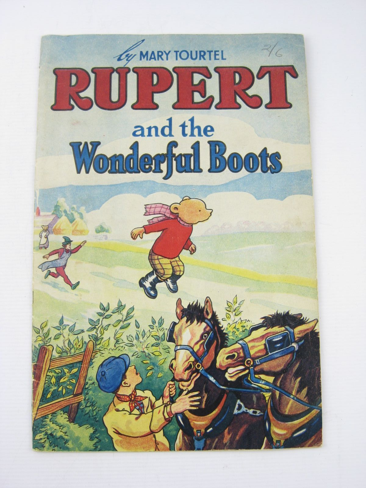 Photo of RUPERT AND THE WONDERFUL BOOTS- Stock Number: 1402306