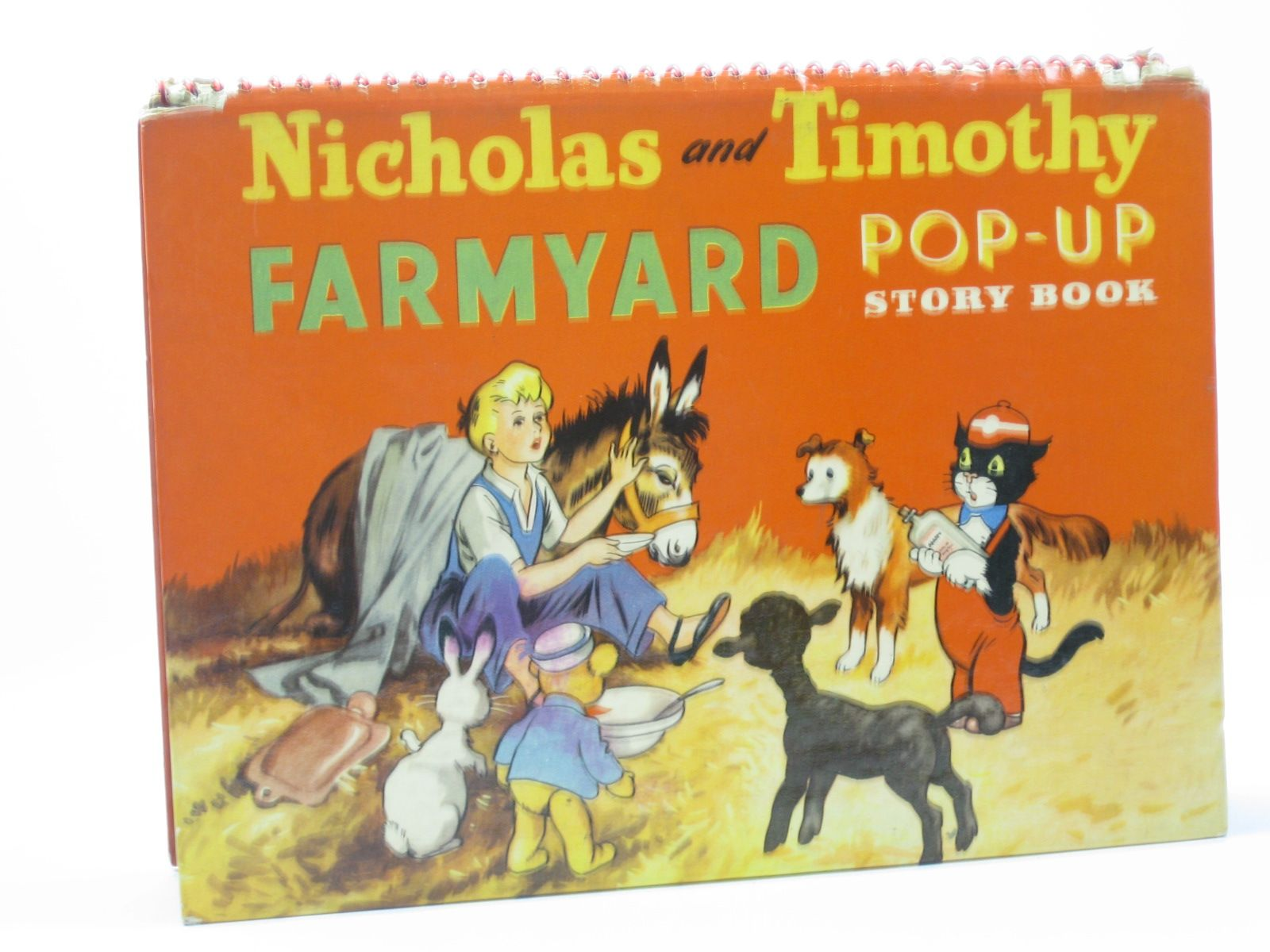 Photo of NICHOLAS AND TIMOTHY FARMYARD POP-UP STORY BOOK- Stock Number: 1402354