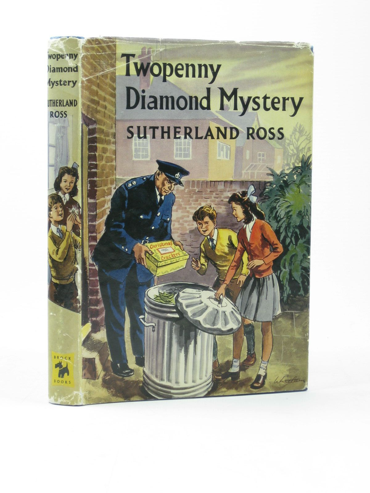 Photo of TWOPENNY DIAMOND MYSTERY written by Ross, Sutherland illustrated by Whittam, Geoffrey published by Brockhampton Press (STOCK CODE: 1402423)  for sale by Stella & Rose's Books