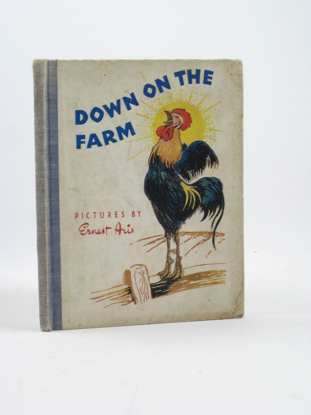 Photo of DOWN ON THE FARM written by Polkinghorne, R.K. Polkinghorne, M.I.R. illustrated by Aris, Ernest A. published by George Newnes Limited (STOCK CODE: 1402522)  for sale by Stella & Rose's Books