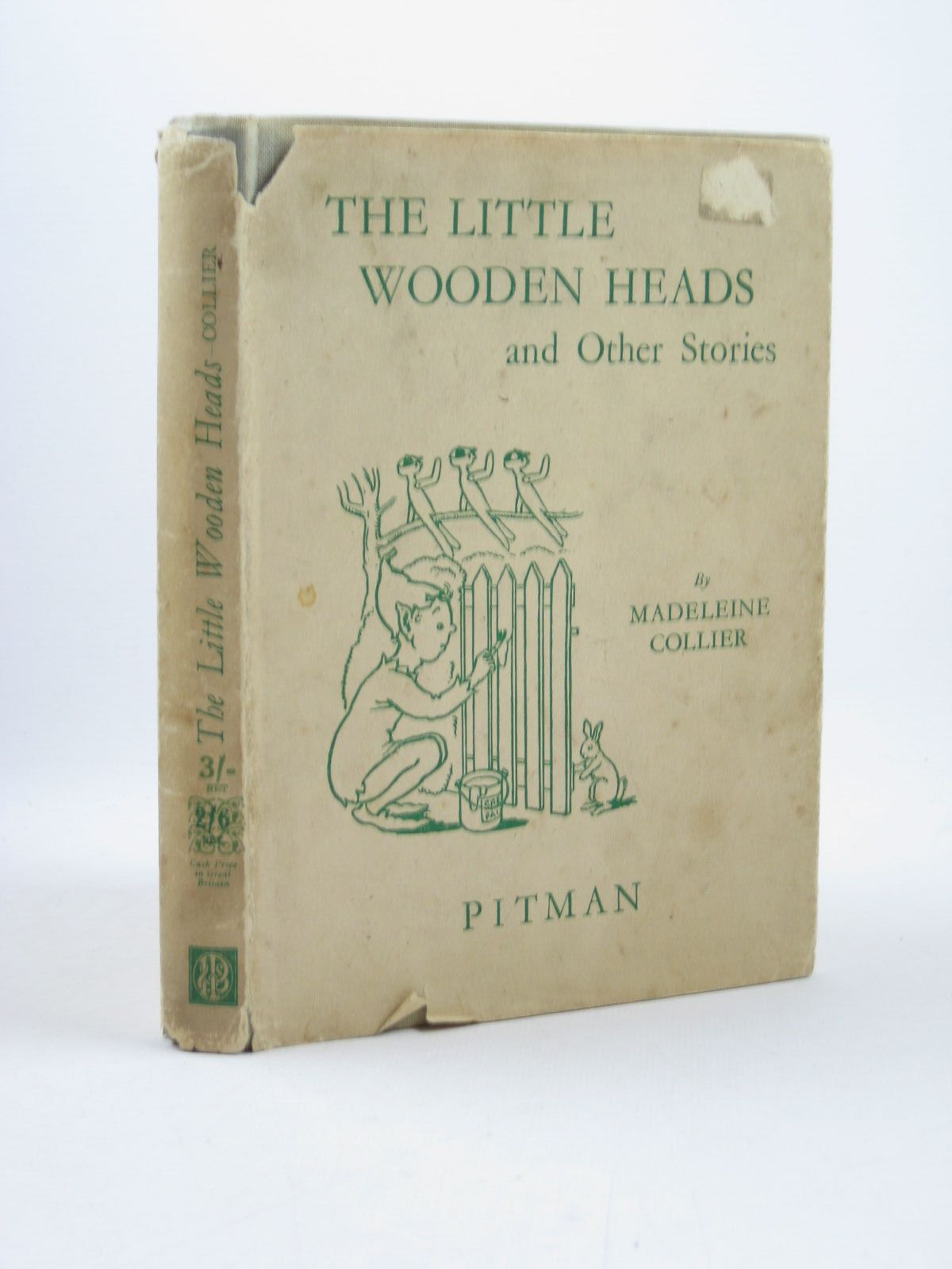 Photo of THE LITTLE WOODEN HEADS AND OTHER STORIES written by Collier, Madeleine illustrated by Simpson, Evelyn published by Sir Isaac Pitman & Sons Ltd. (STOCK CODE: 1402557)  for sale by Stella & Rose's Books