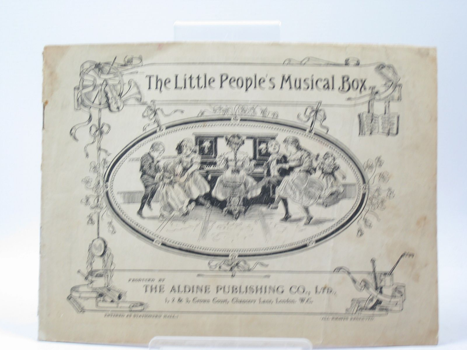 Photo of THE LITTLE PEOPLE'S MUSICAL BOX- Stock Number: 1402687