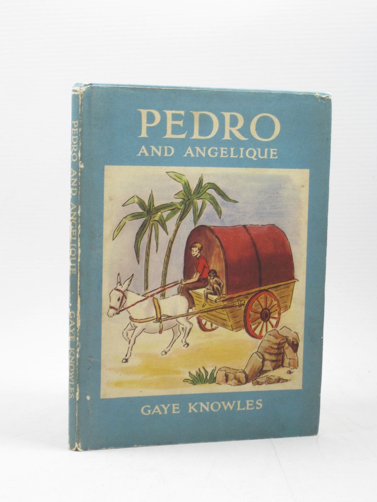 Photo of PEDRO AND ANGELIQUE written by Knowles, Gaye illustrated by Knowles, Gaye published by Brockhampton Press (STOCK CODE: 1402707)  for sale by Stella & Rose's Books