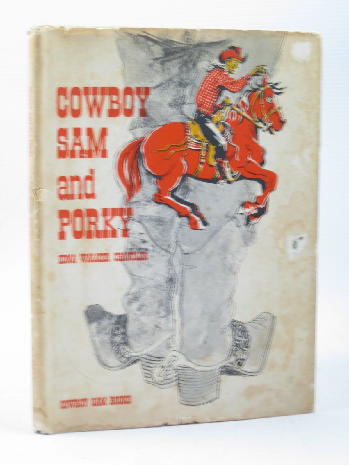 Photo of COWBOY SAM AND PORKY written by Chandler, Edna Walker illustrated by Merryweather, Jack published by E.J. Arnold & Son Ltd. (STOCK CODE: 1402710)  for sale by Stella & Rose's Books