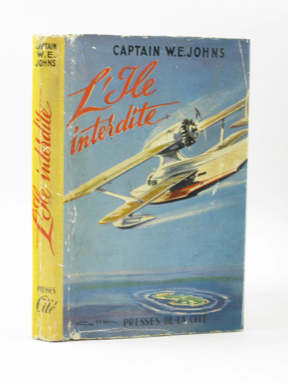 Photo of L'ILE INTERDITE written by Johns, W.E. published by Presses De La Cite (STOCK CODE: 1402740)  for sale by Stella & Rose's Books