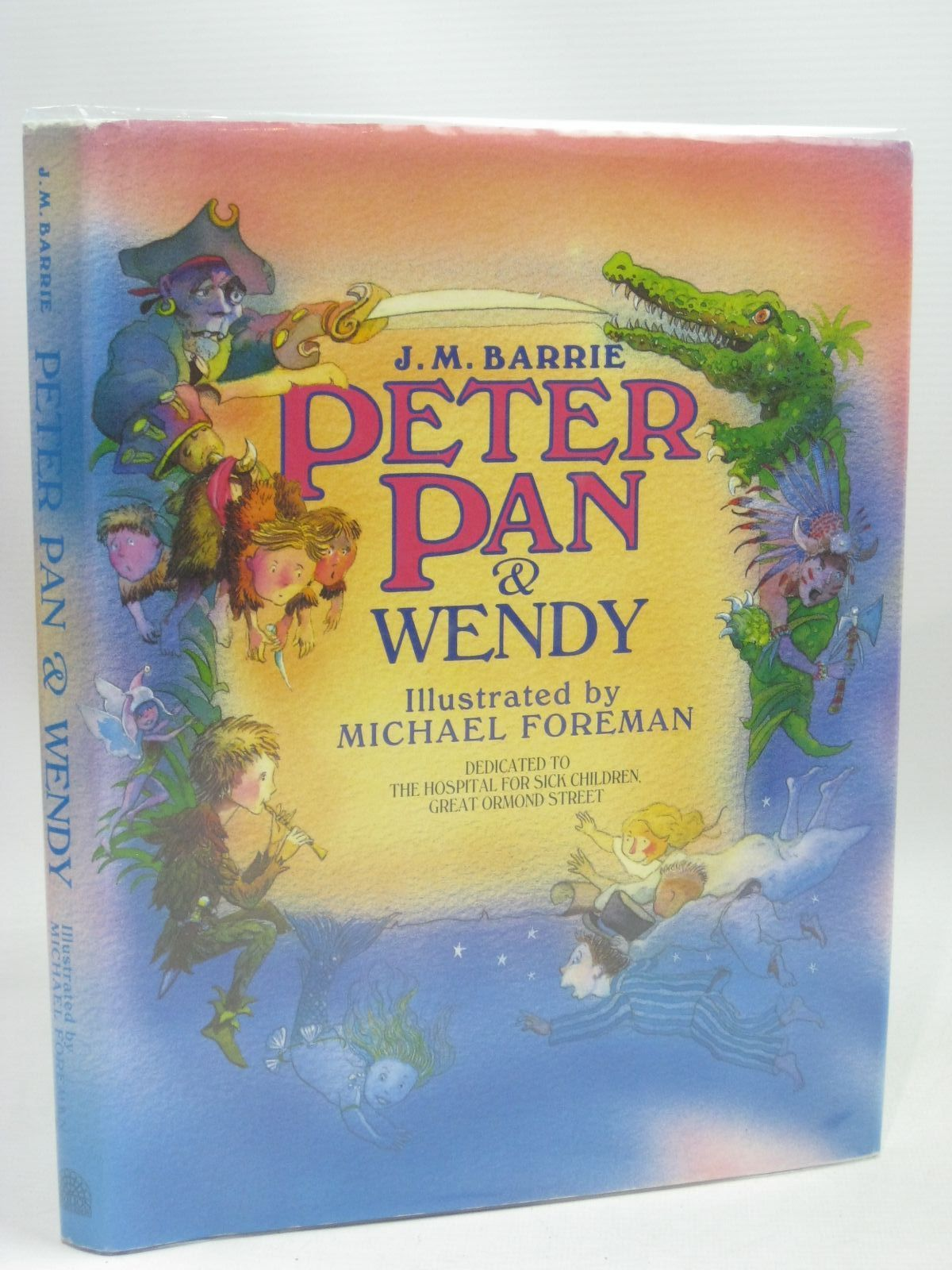 Photo of PETER PAN & WENDY written by Barrie, J.M. illustrated by Foreman, Michael published by Pavilion Books (STOCK CODE: 1402798)  for sale by Stella & Rose's Books