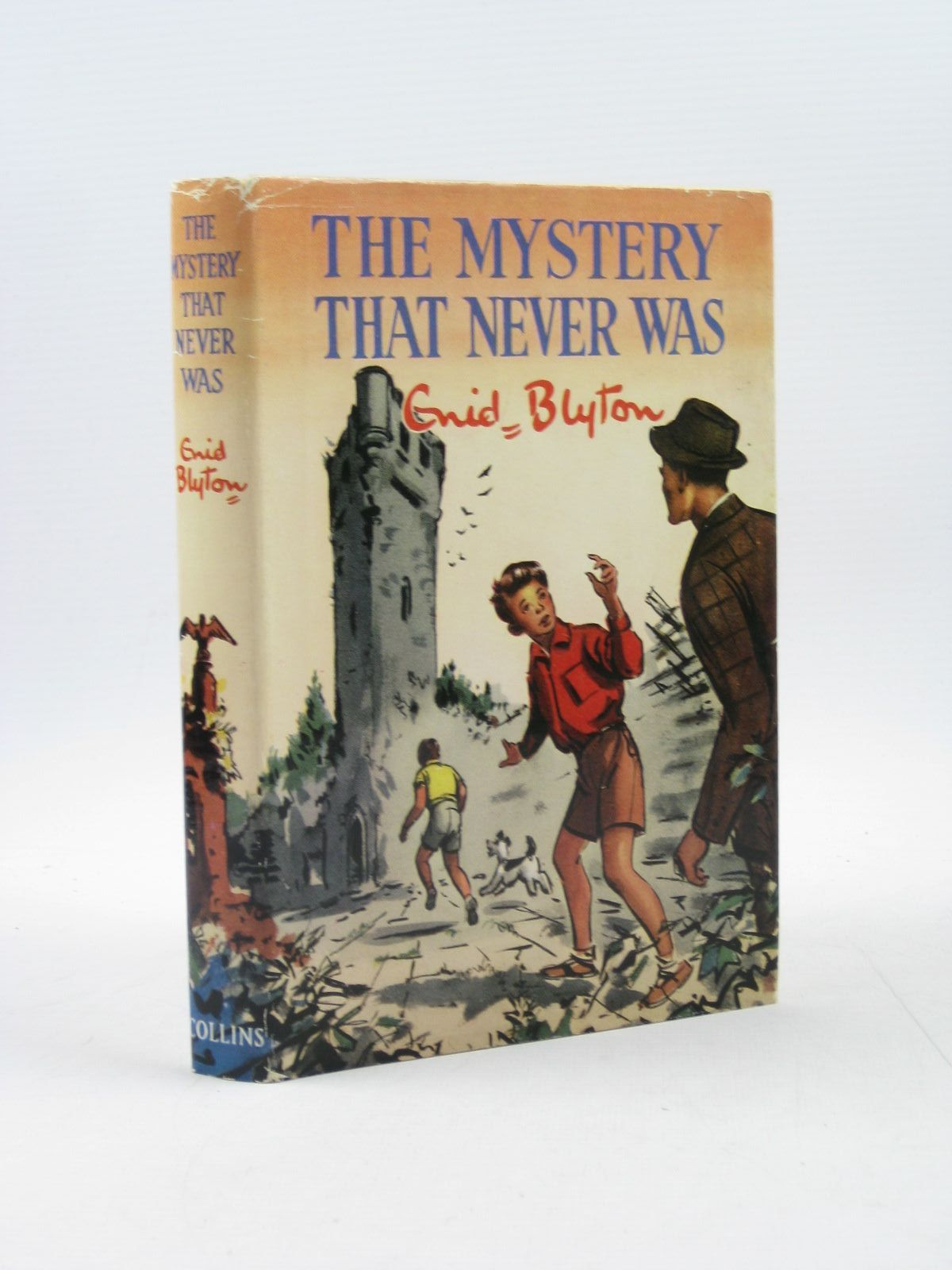 Photo of THE MYSTERY THAT NEVER WAS written by Blyton, Enid illustrated by Dunlop, Gilbert published by Collins (STOCK CODE: 1402821)  for sale by Stella & Rose's Books