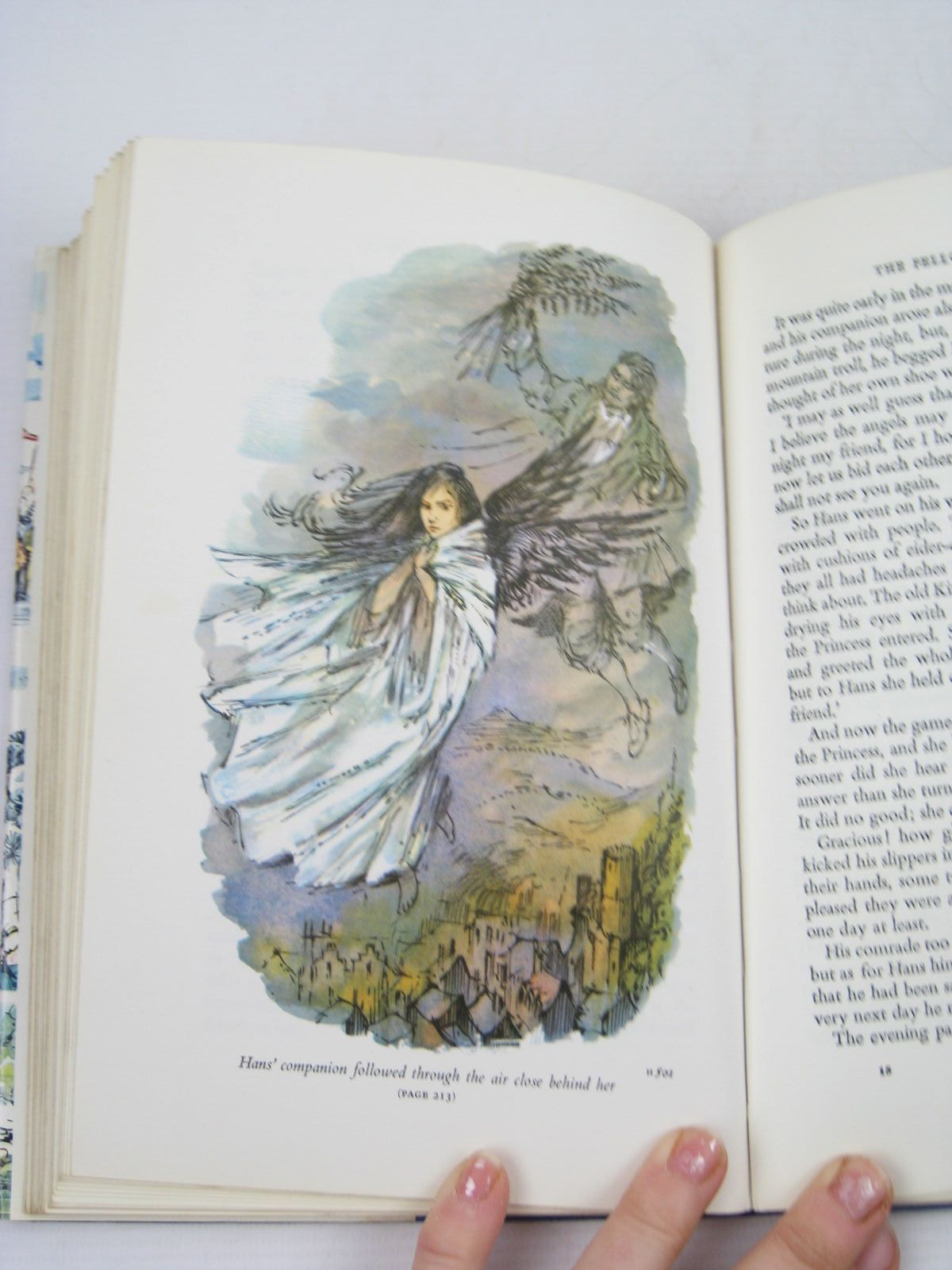 Photo of MORE FAIRY TALES BY HANS ANDERSEN written by Andersen, Hans Christian illustrated by Hughes, Shirley published by Blackie (STOCK CODE: 1402932)  for sale by Stella & Rose's Books