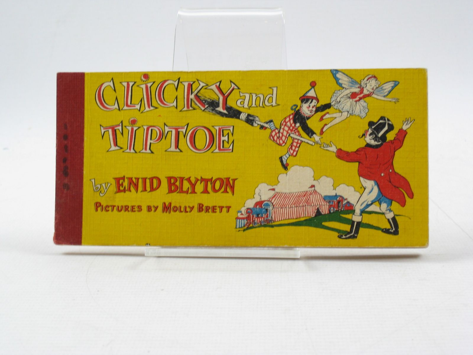Photo of CLICKY AND TIPTOE written by Blyton, Enid illustrated by Brett, Molly published by Brockhampton Press (STOCK CODE: 1403076)  for sale by Stella & Rose's Books