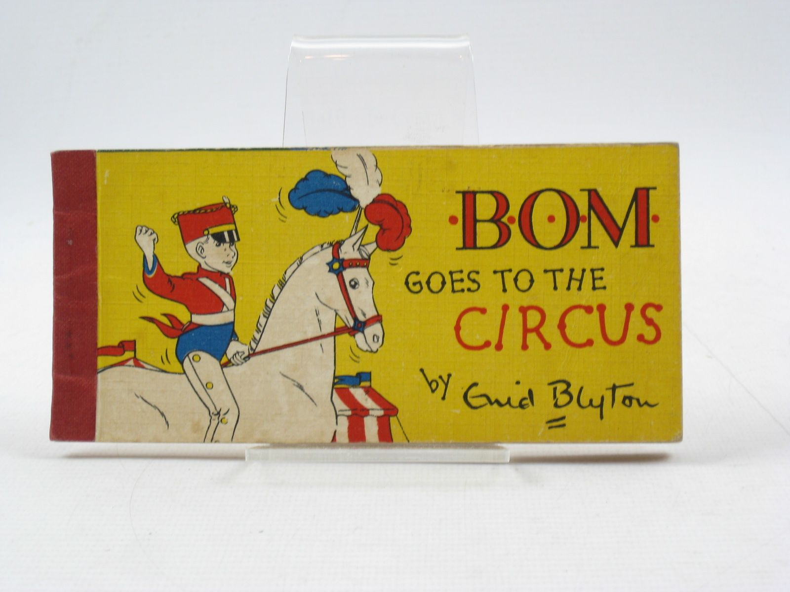 Photo of BOM GOES TO THE CIRCUS written by Blyton, Enid illustrated by Paul-Hoye, R. published by Brockhampton Press (STOCK CODE: 1403077)  for sale by Stella & Rose's Books