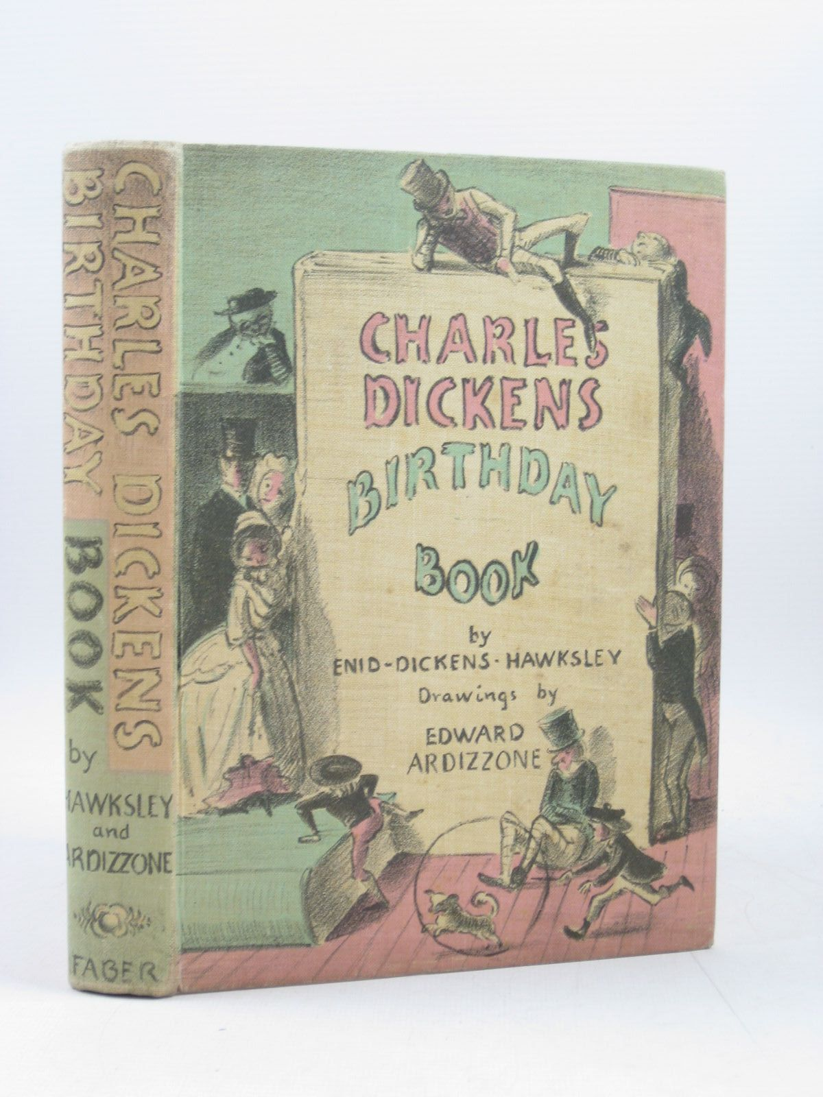 Photo of CHARLES DICKENS BIRTHDAY BOOK written by Dickens, Charles