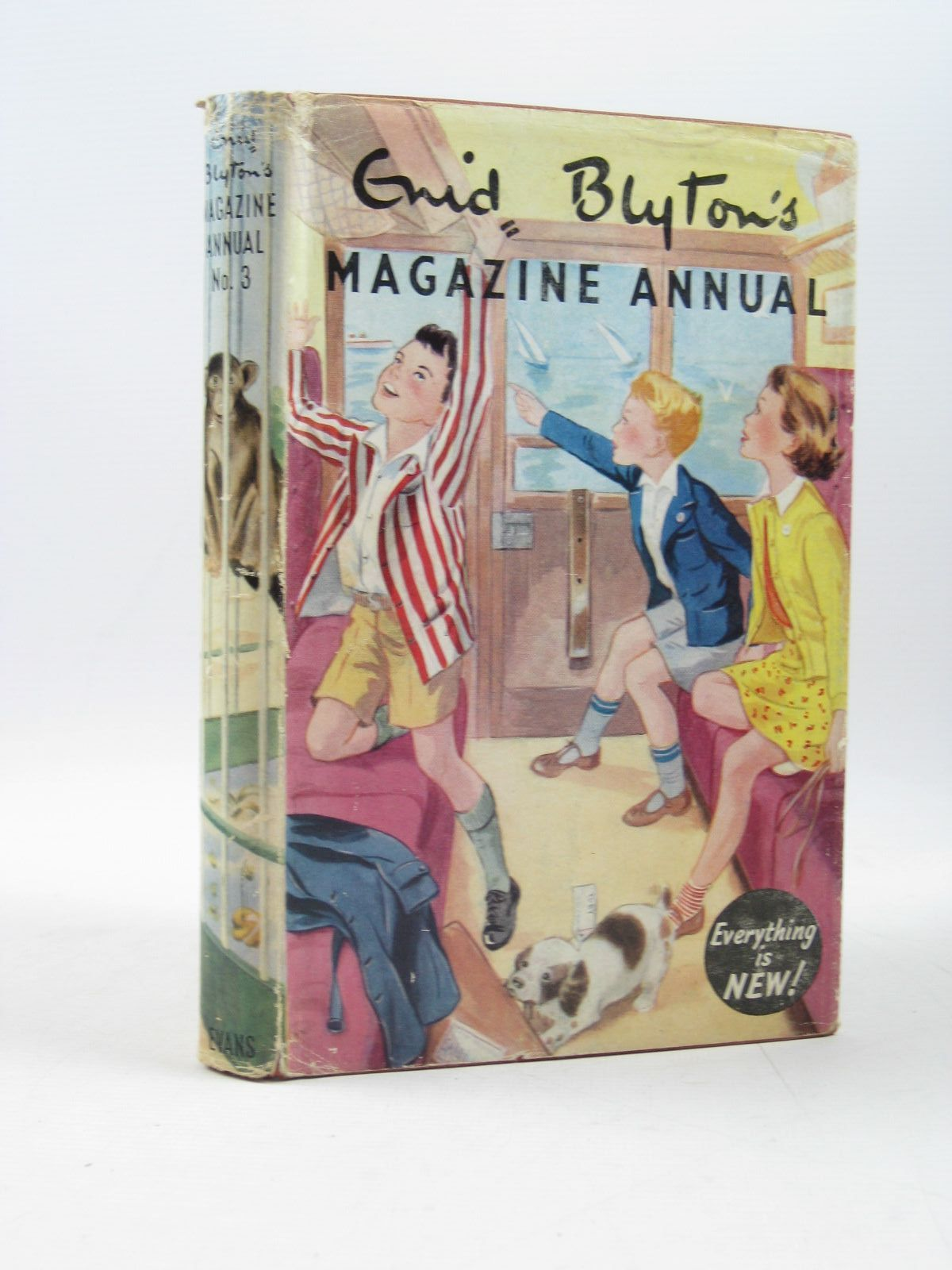 Photo of ENID BLYTON'S MAGAZINE ANNUAL No. 3 written by Blyton, Enid published by Evans Brothers Limited (STOCK CODE: 1403361)  for sale by Stella & Rose's Books
