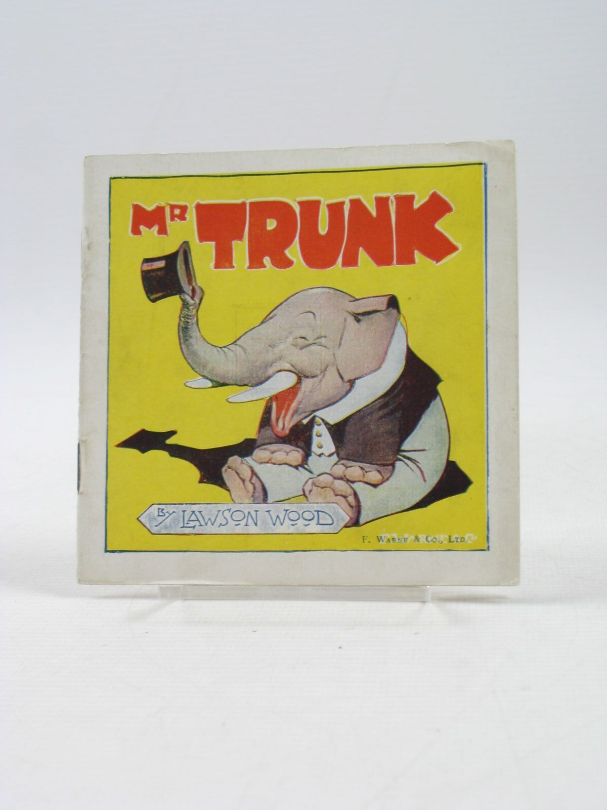 Photo of MR TRUNK - HIS DAY OUT written by Wood, Lawson illustrated by Wood, Lawson published by F. Warne &  Co. Ltd. (STOCK CODE: 1403365)  for sale by Stella & Rose's Books