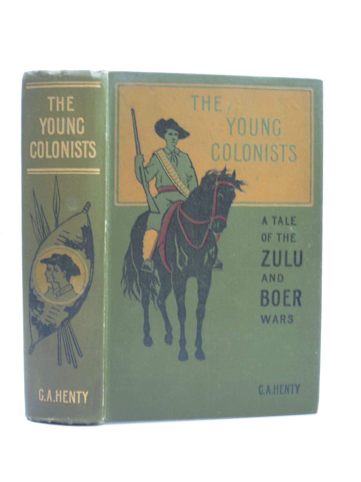 Photo of THE YOUNG COLONISTS written by Henty, G.A. illustrated by Vedder, Simon Harmon published by Blackie & Son Ltd. (STOCK CODE: 1403604)  for sale by Stella & Rose's Books