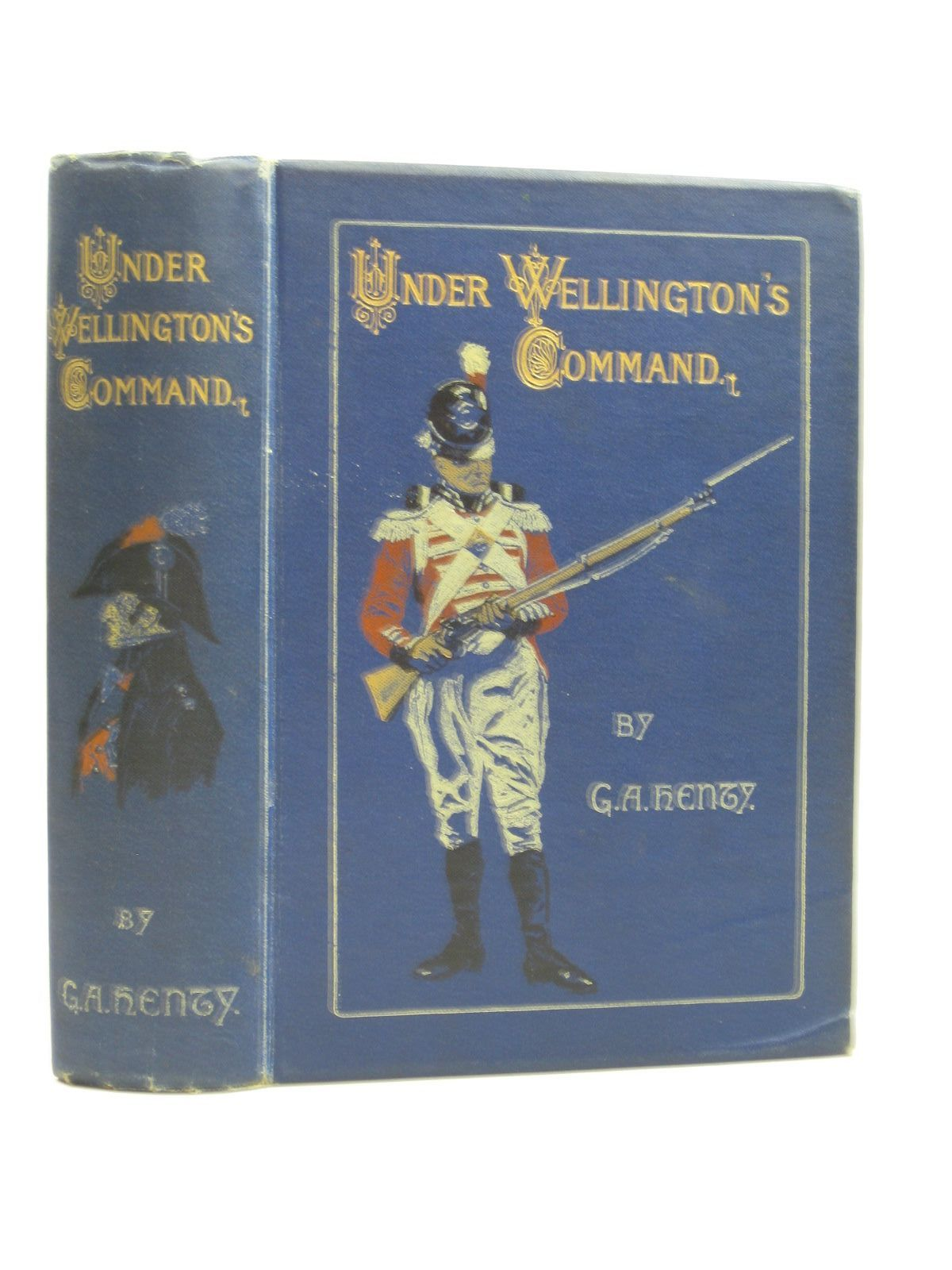 Photo of UNDER WELLINGTON'S COMMAND written by Henty, G.A. illustrated by Paget, Wal published by Blackie & Son Ltd. (STOCK CODE: 1403630)  for sale by Stella & Rose's Books