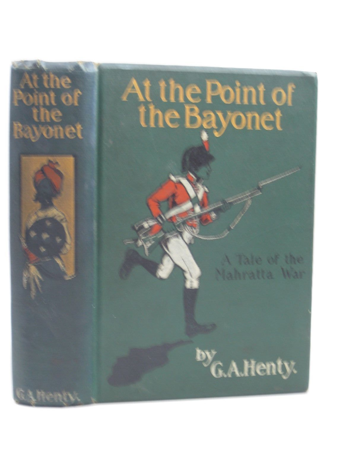 Photo of AT THE POINT OF THE BAYONET written by Henty, G.A. illustrated by Paget, Wal published by Blackie & Son Ltd. (STOCK CODE: 1403673)  for sale by Stella & Rose's Books
