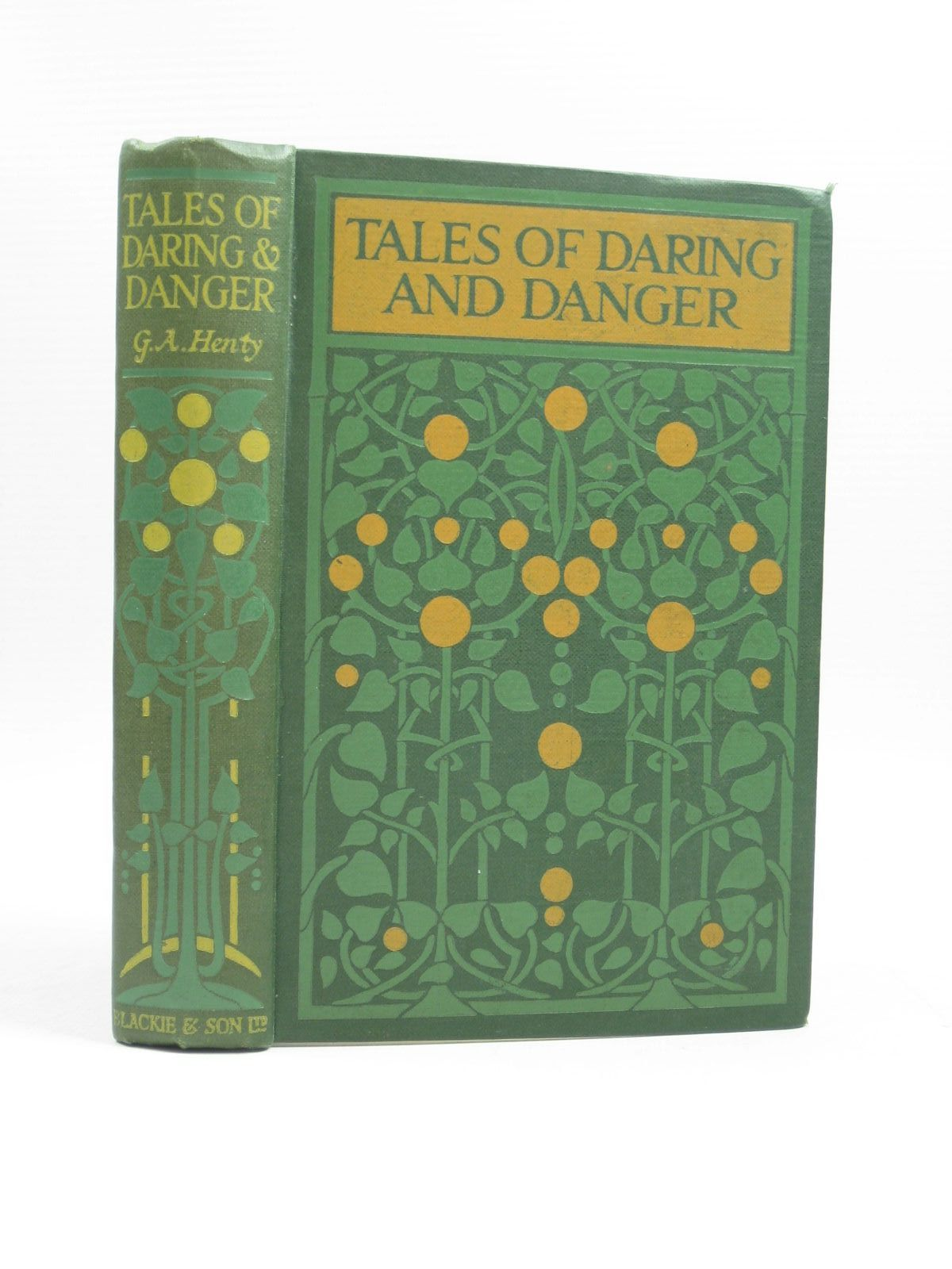 Photo of TALES OF DARING AND DANGER written by Henty, G.A. published by Blackie And Son Limited (STOCK CODE: 1403687)  for sale by Stella & Rose's Books