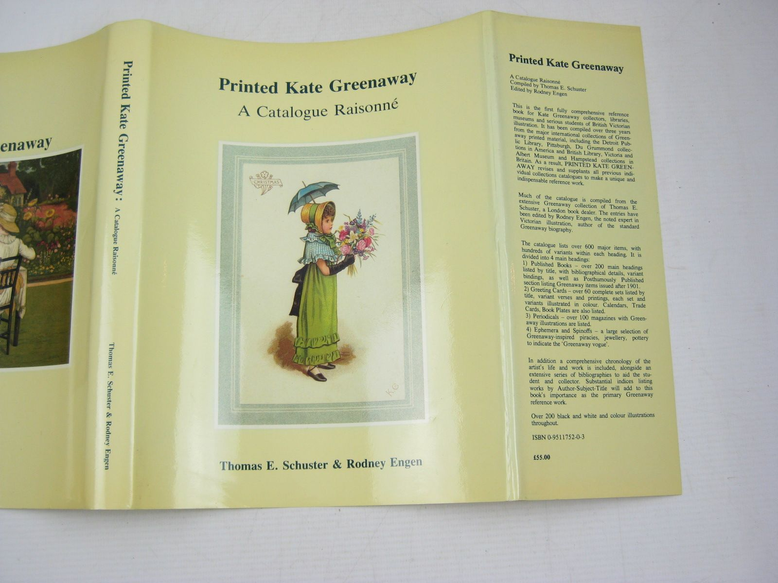 Photo of PRINTED KATE GREENAWAY A CATALOGUE RAISONNE written by Schuster, Thomas E. Engen, Rodney K. illustrated by Greenaway, Kate published by T.E. Schuster (STOCK CODE: 1403761)  for sale by Stella & Rose's Books