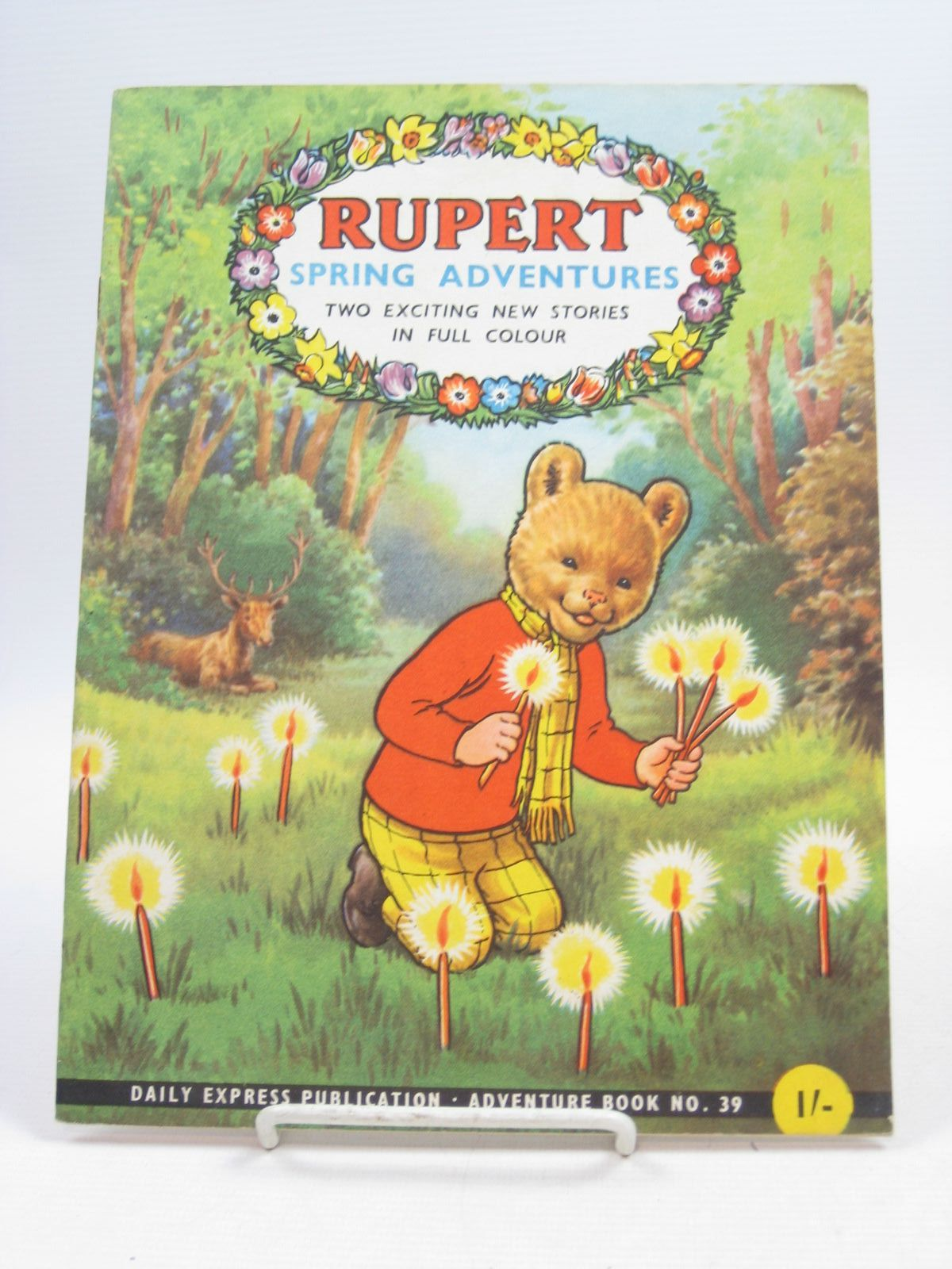 Photo of RUPERT ADVENTURE BOOK No. 39 - RUPERT SPRING ADVENTURES written by Bestall, Alfred published by Daily Express (STOCK CODE: 1403900)  for sale by Stella & Rose's Books