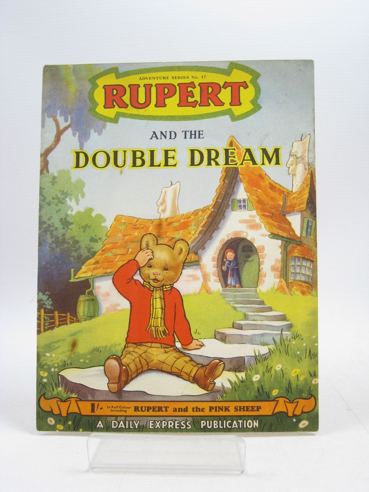 Photo of RUPERT ADVENTURE SERIES No. 17 - RUPERT AND THE DOUBLE DREAM written by Bestall, Alfred published by Daily Express (STOCK CODE: 1403906)  for sale by Stella & Rose's Books