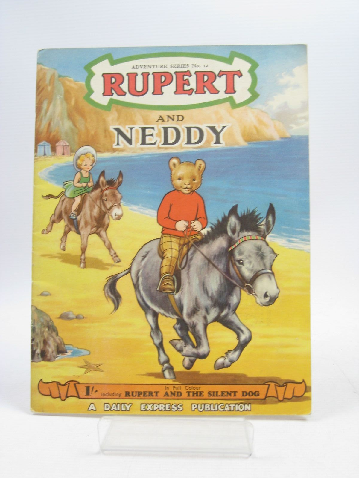 Photo of RUPERT ADVENTURE SERIES No. 12 - RUPERT AND NEDDY written by Bestall, Alfred illustrated by Ash, Enid<br />Bestall, Alfred published by Daily Express (STOCK CODE: 1403907)  for sale by Stella & Rose's Books
