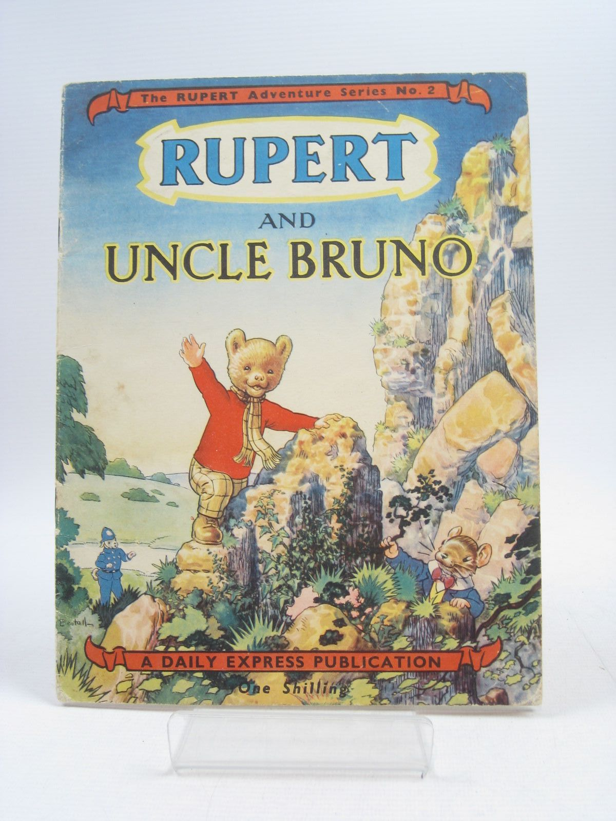 Photo of RUPERT ADVENTURE SERIES No. 2 - RUPERT AND UNCLE BRUNO written by Bestall, Alfred illustrated by Bestall, Alfred published by Daily Express (STOCK CODE: 1403911)  for sale by Stella & Rose's Books
