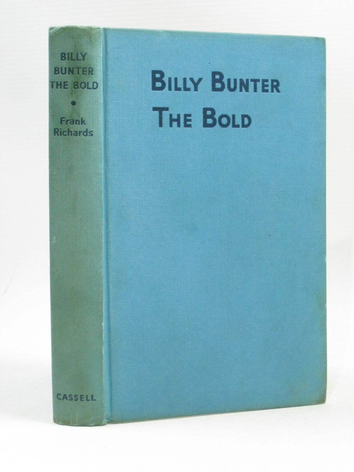 Photo of BILLY BUNTER THE BOLD written by Richards, Frank illustrated by Macdonald, R.J. published by Cassell & Co. Ltd. (STOCK CODE: 1404163)  for sale by Stella & Rose's Books