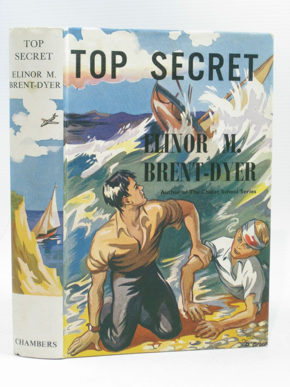 Photo of TOP SECRET written by Brent-Dyer, Elinor M. published by W. & R. Chambers Limited (STOCK CODE: 1404196)  for sale by Stella & Rose's Books