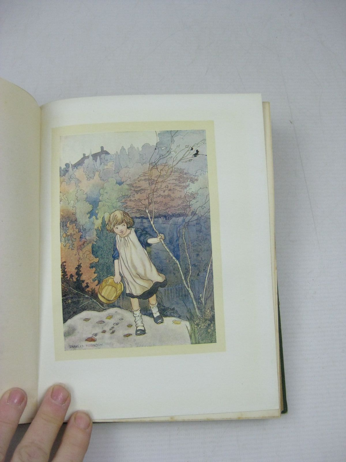 Photo of OUR SENTIMENTAL GARDEN written by Castle, Agnes Castle, Egerton illustrated by Robinson, Charles published by William Heinemann (STOCK CODE: 1404229)  for sale by Stella & Rose's Books