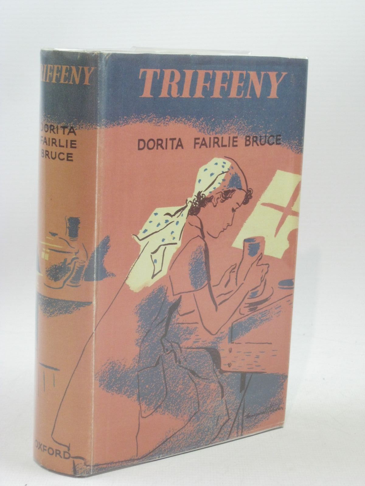 Photo of TRIFFENY written by Bruce, Dorita Fairlie illustrated by Horder, Margaret published by Oxford University Press, Geoffrey Cumberlege (STOCK CODE: 1404235)  for sale by Stella & Rose's Books