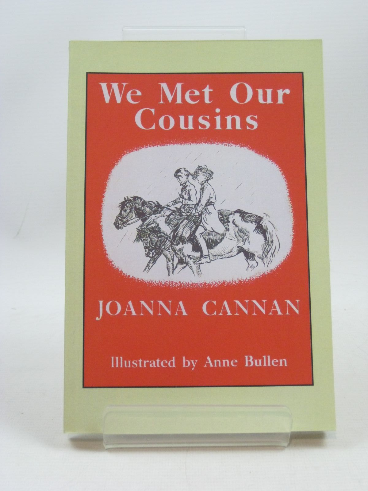 Photo of WE MET OUR COUSINS written by Cannan, Joanna illustrated by Bullen, Anne published by Fidra Books (STOCK CODE: 1404238)  for sale by Stella & Rose's Books