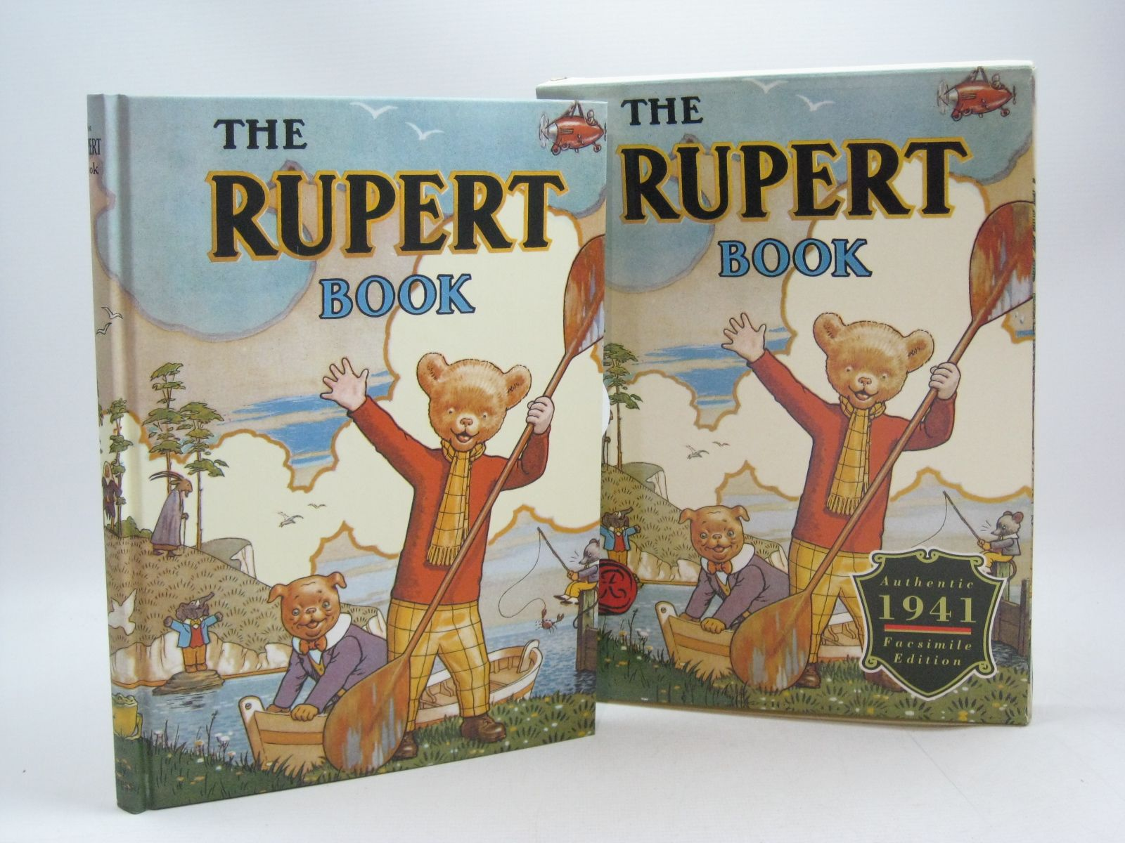 Photo of RUPERT ANNUAL 1941 (FACSIMILE) - THE RUPERT BOOK written by Bestall, Alfred illustrated by Bestall, Alfred published by Pedigree Books Limited (STOCK CODE: 1404257)  for sale by Stella & Rose's Books