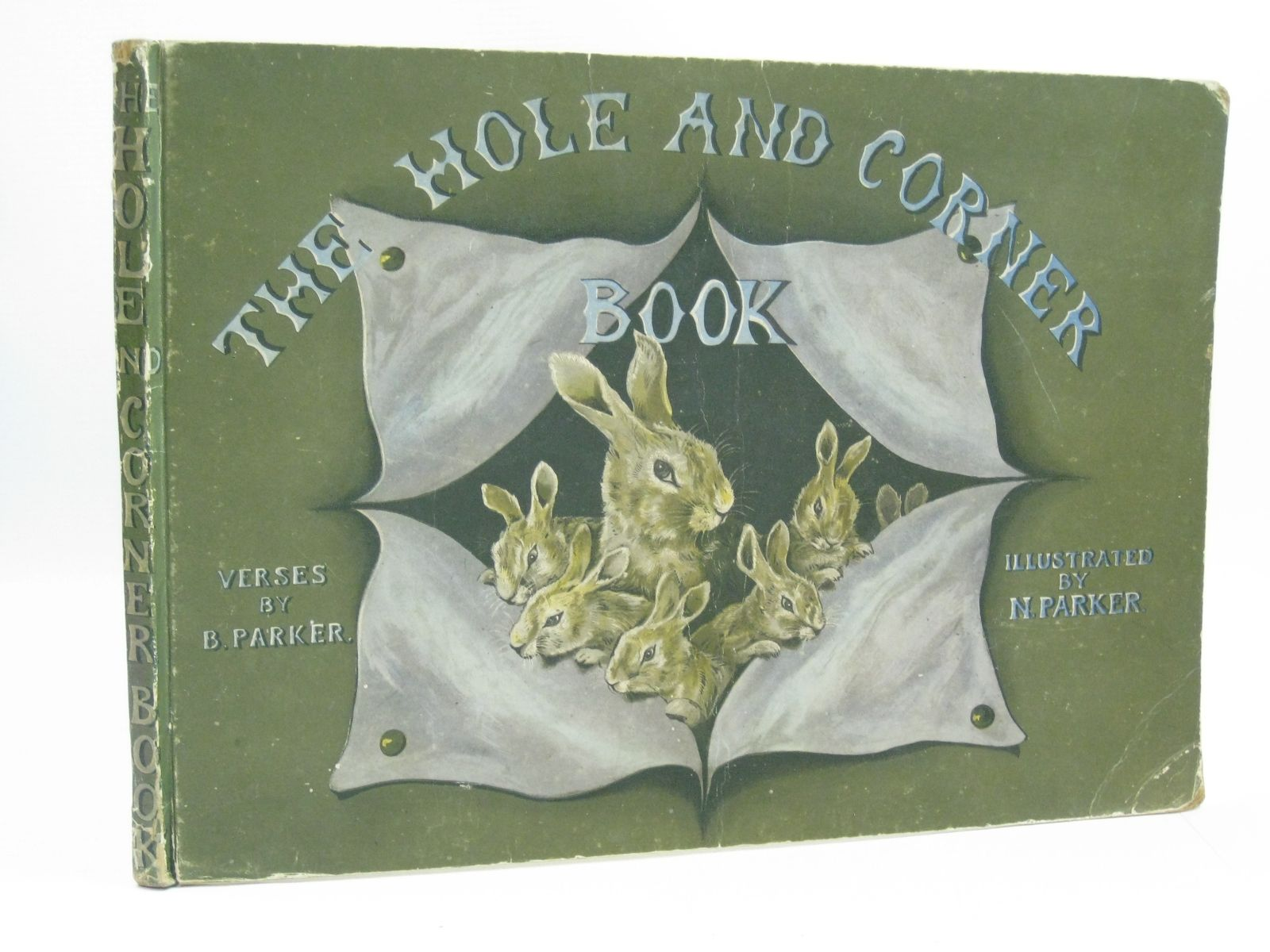 Photo of THE HOLE AND CORNER BOOK- Stock Number: 1404293