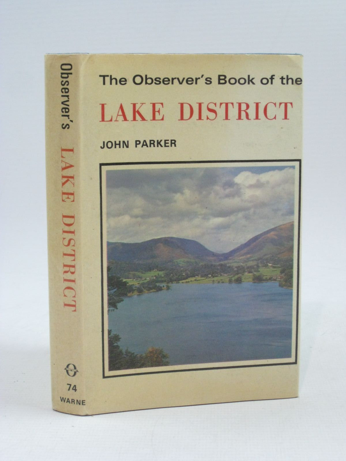 Photo of THE OBSERVER'S BOOK OF THE LAKE DISTRICT written by Parker, John published by Frederick Warne & Co Ltd. (STOCK CODE: 1404320)  for sale by Stella & Rose's Books