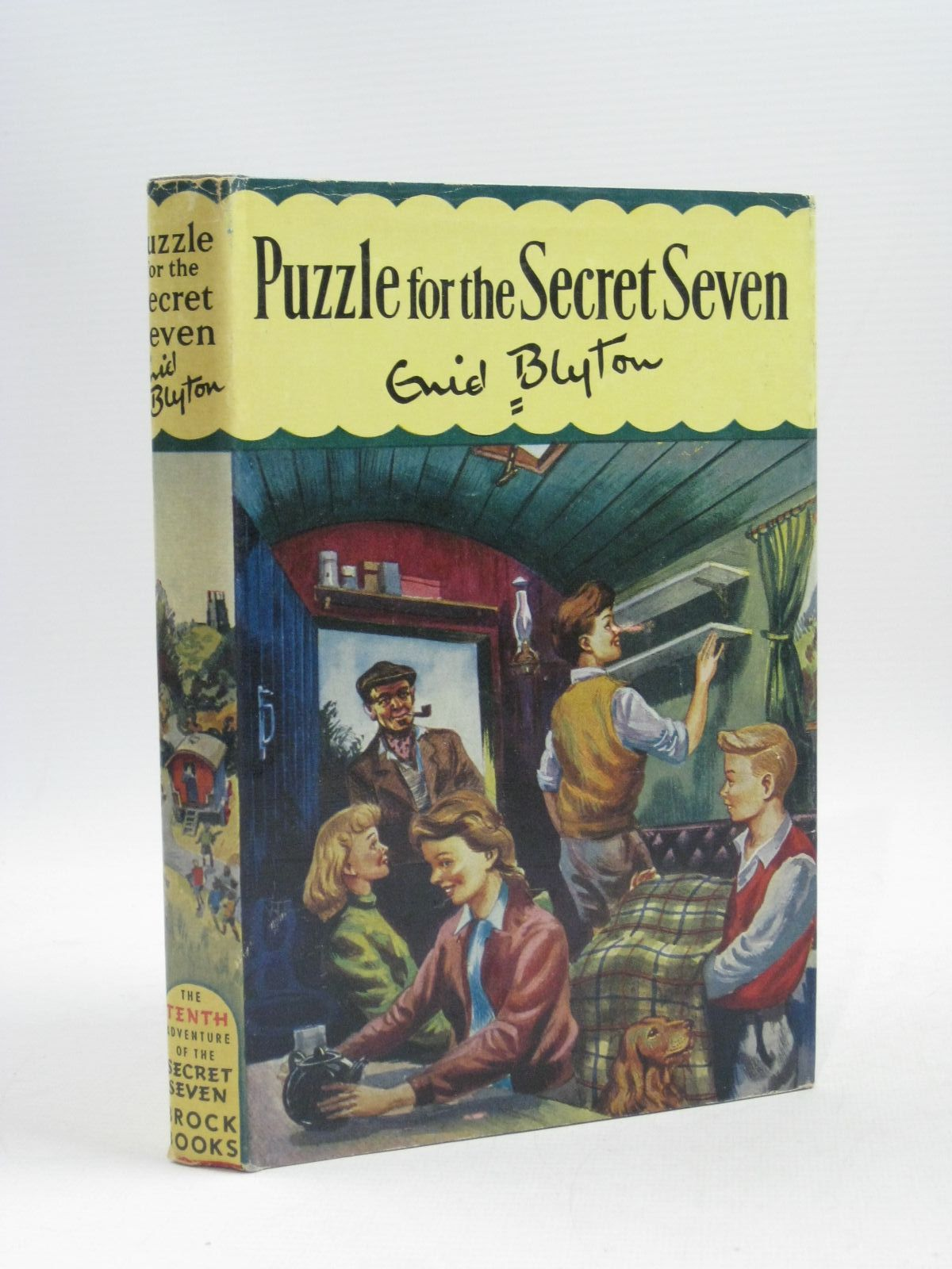 Photo of PUZZLE FOR THE SECRET SEVEN- Stock Number: 1404422