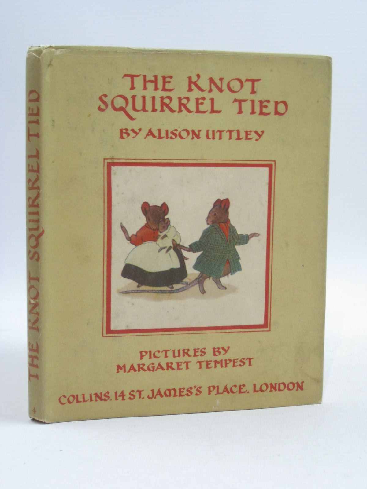 Photo of THE KNOT SQUIRREL TIED written by Uttley, Alison illustrated by Tempest, Margaret published by Collins (STOCK CODE: 1404441)  for sale by Stella & Rose's Books