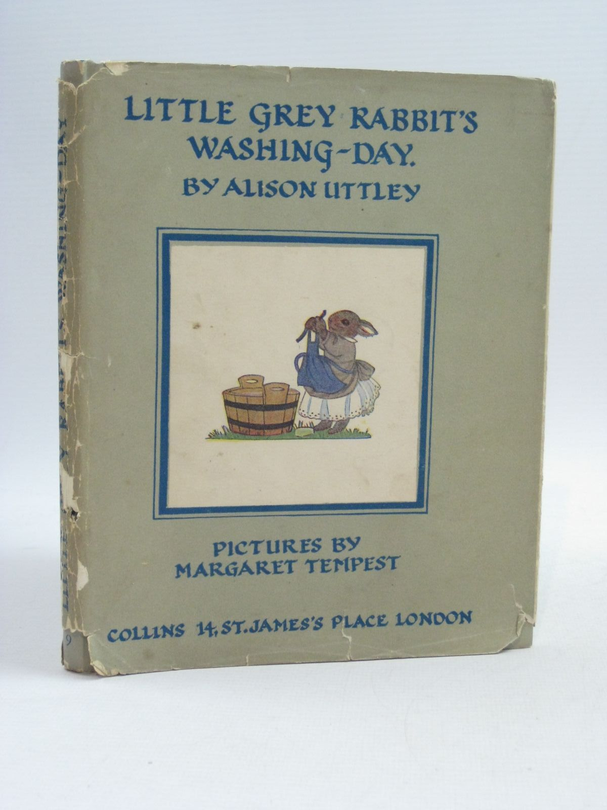 Photo of LITTLE GREY RABBIT'S WASHING-DAY written by Uttley, Alison illustrated by Tempest, Margaret published by Collins (STOCK CODE: 1404448)  for sale by Stella & Rose's Books