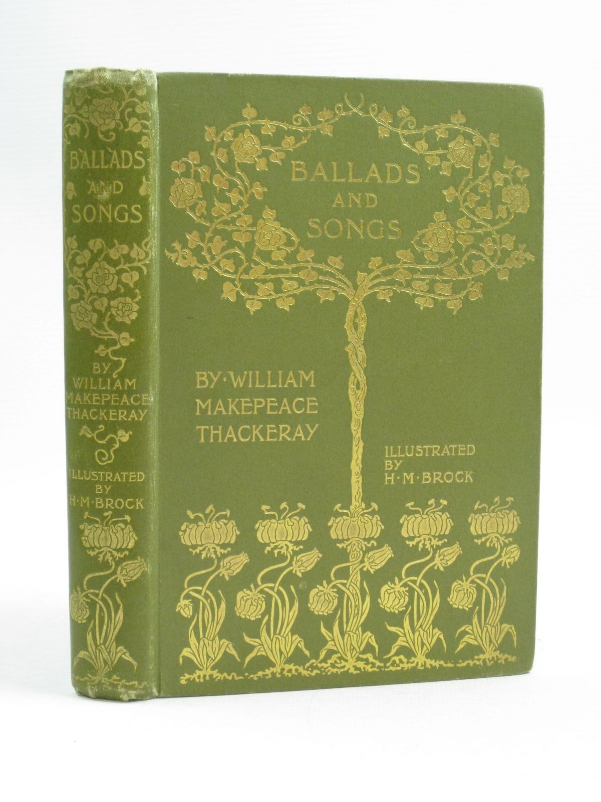 Photo of BALLADS AND SONGS written by Thackeray, William Makepeace illustrated by Brock, H.M. published by Cassell & Company Limited (STOCK CODE: 1404554)  for sale by Stella & Rose's Books