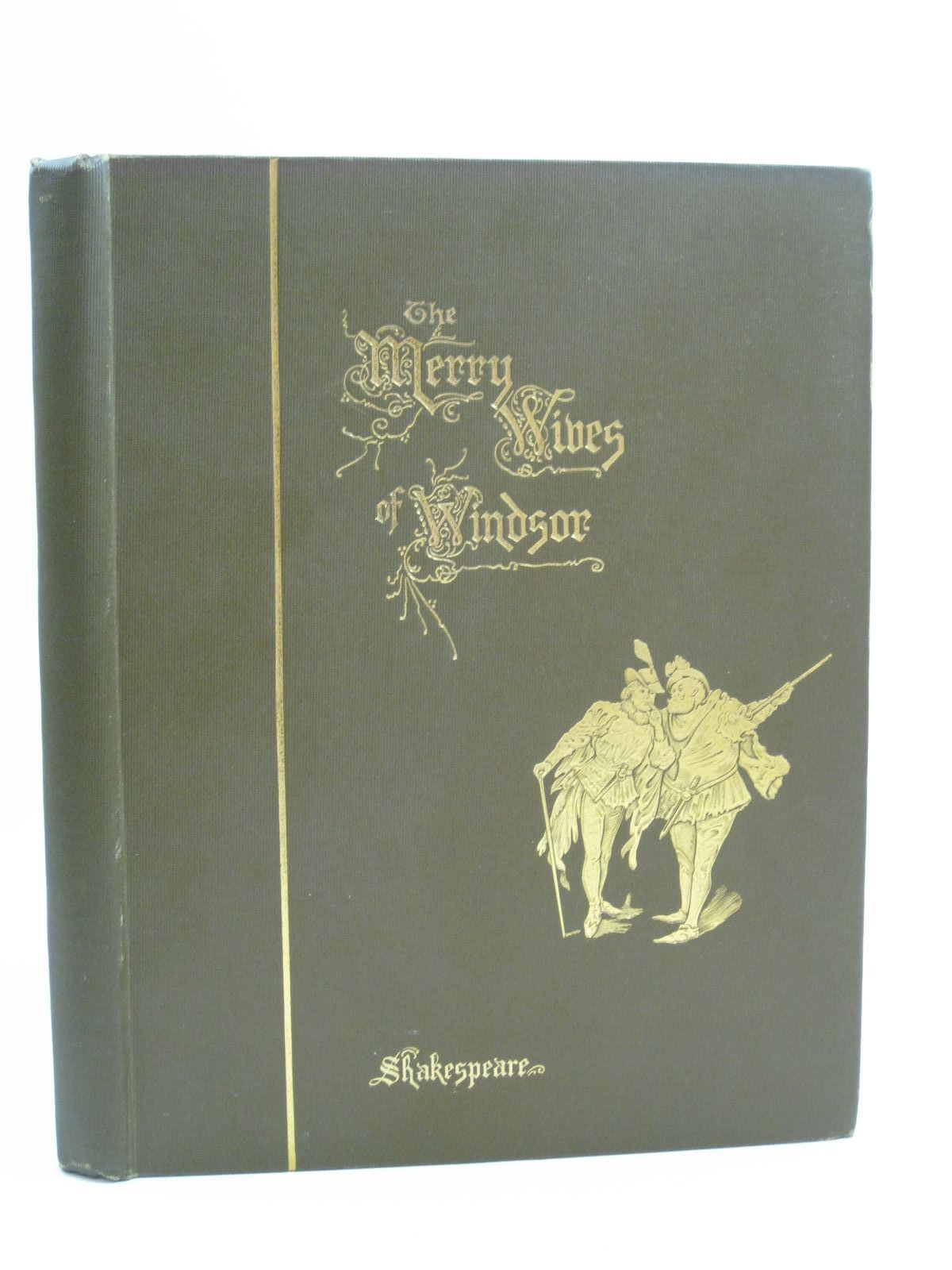 Photo of THE MERRY WIVES OF WINDSOR written by Shakespeare, William illustrated by Finnemore, J.