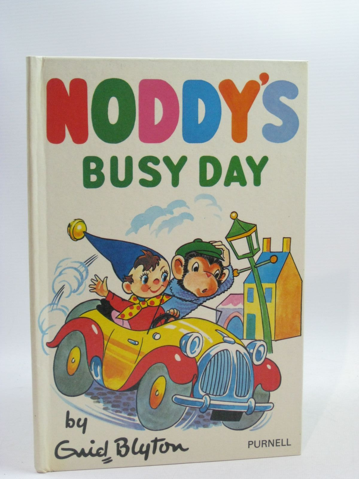Photo of NODDY'S BUSY DAY written by Blyton, Enid published by Purnell (STOCK CODE: 1404592)  for sale by Stella & Rose's Books