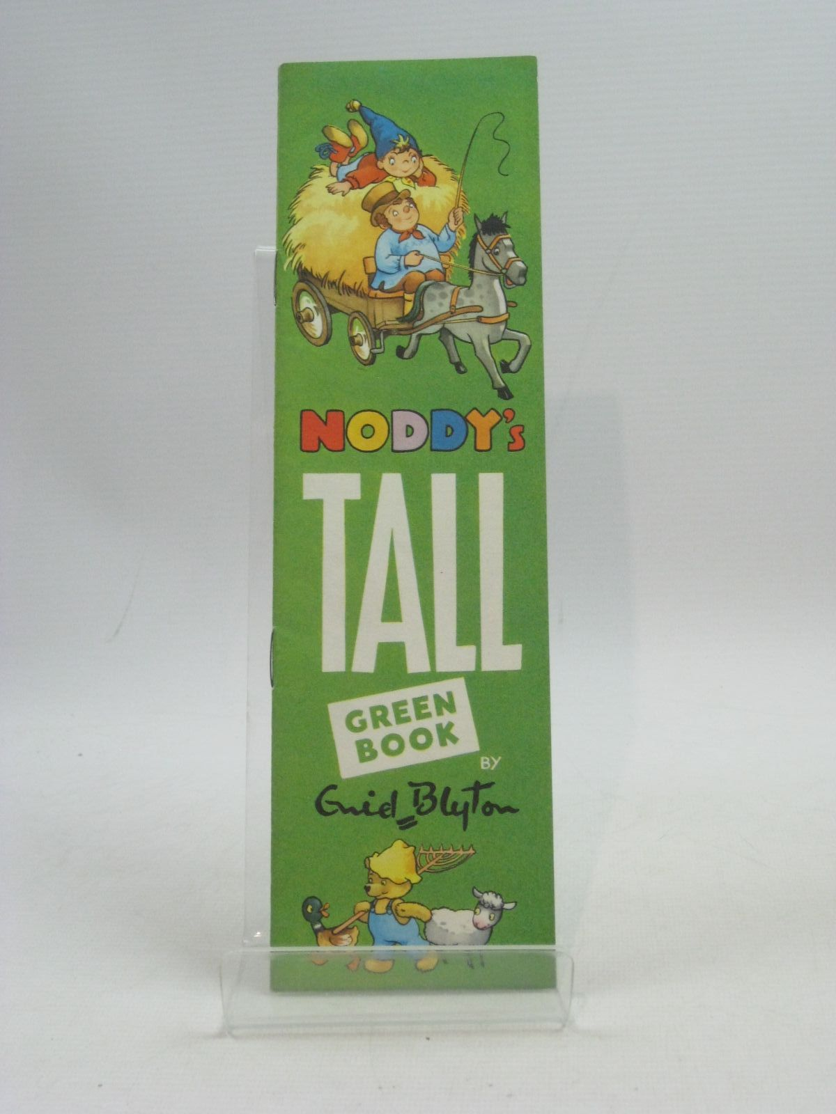 Photo of NODDY'S TALL GREEN BOOK written by Blyton, Enid illustrated by Tyndall, Robert published by Sampson Low, Marston & Co. Ltd. (STOCK CODE: 1404594)  for sale by Stella & Rose's Books