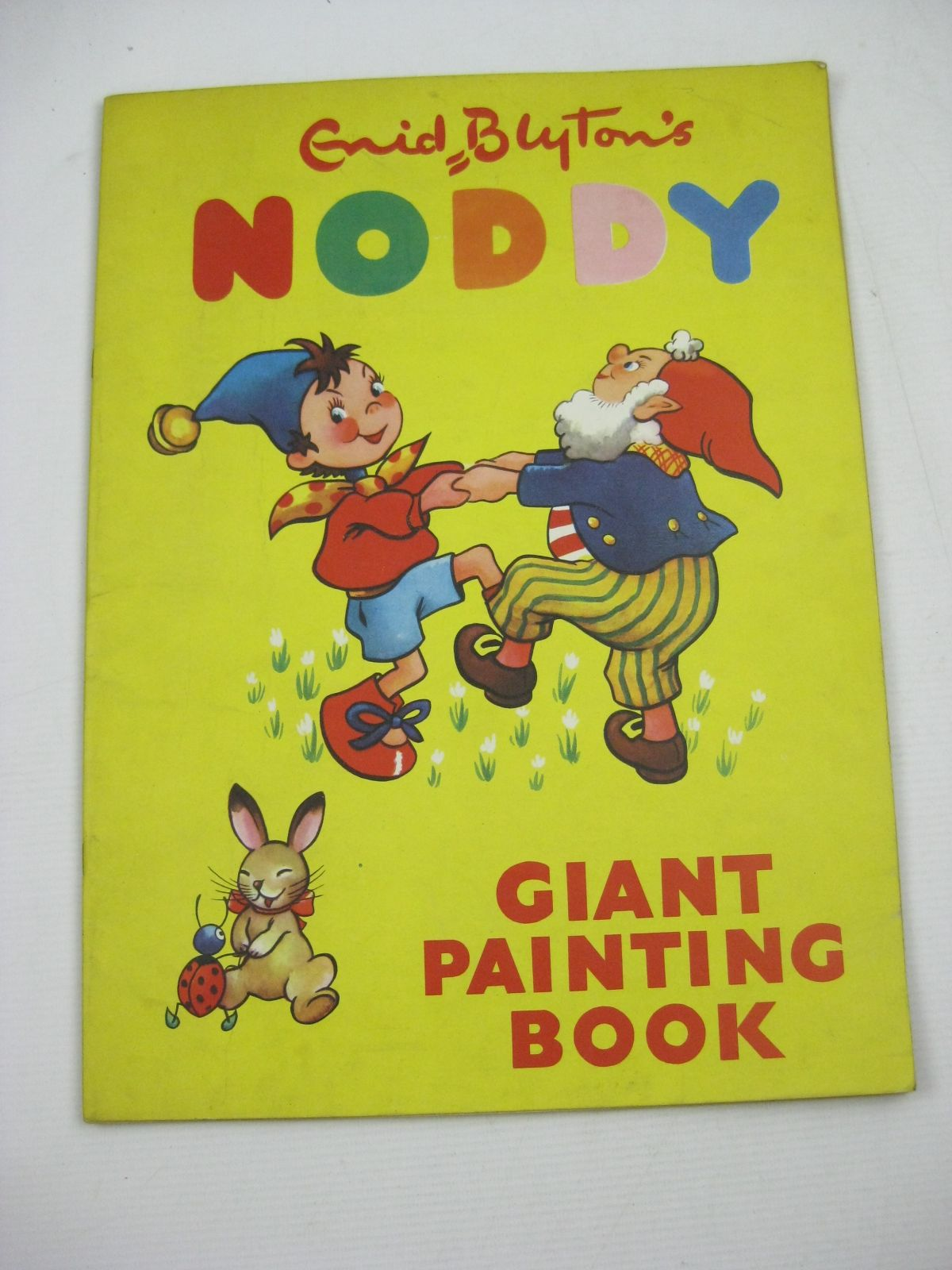 Photo of ENID BLYTON'S NODDY GIANT PAINTING BOOK written by Blyton, Enid published by Sampson Low, Marston & Co. Ltd., Pleiades Books Ltd. (STOCK CODE: 1404603)  for sale by Stella & Rose's Books