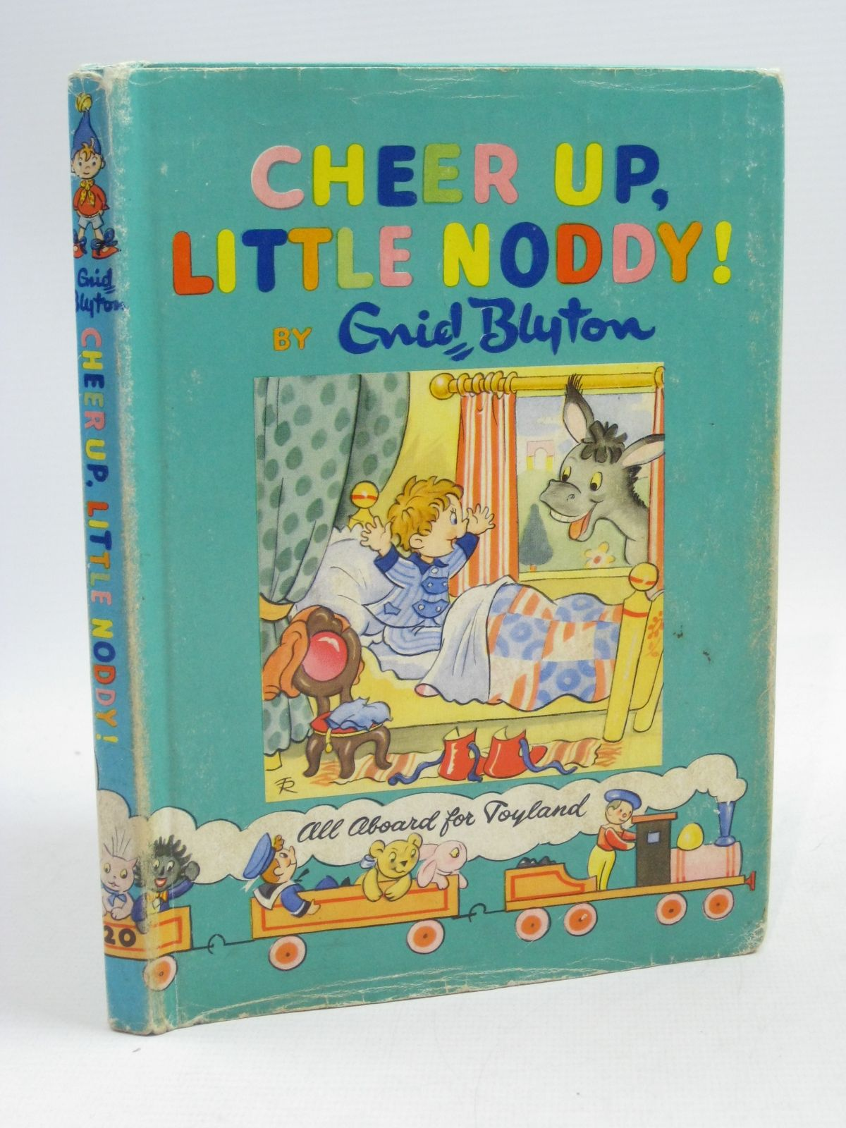 Photo of CHEER UP, LITTLE NODDY! written by Blyton, Enid illustrated by Tyndall, Robert published by Sampson Low, Marston & Co. Ltd., The Richards Press Ltd. (STOCK CODE: 1404625)  for sale by Stella & Rose's Books