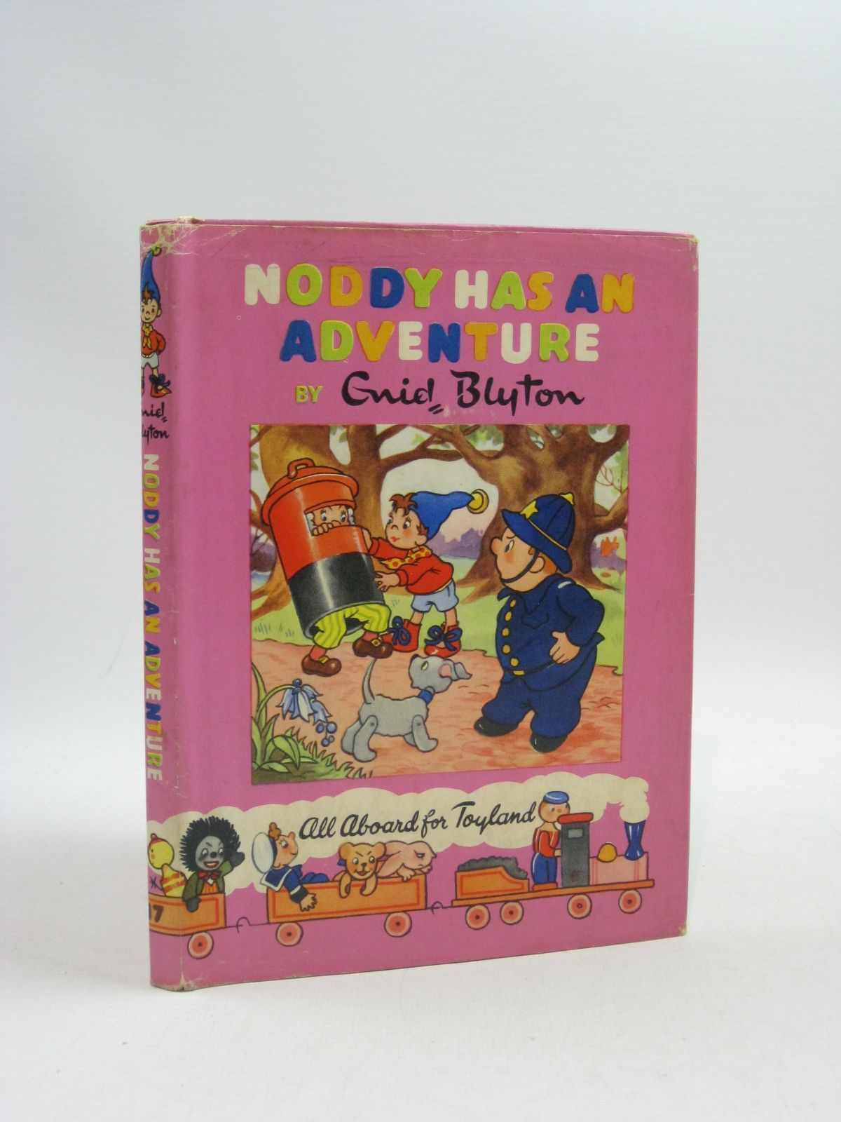 Photo of NODDY HAS AN ADVENTURE written by Blyton, Enid illustrated by Wienk, Peter Tyndall, Robert published by Sampson Low, Marston & Co. Ltd., Dennis Dobson (STOCK CODE: 1404635)  for sale by Stella & Rose's Books