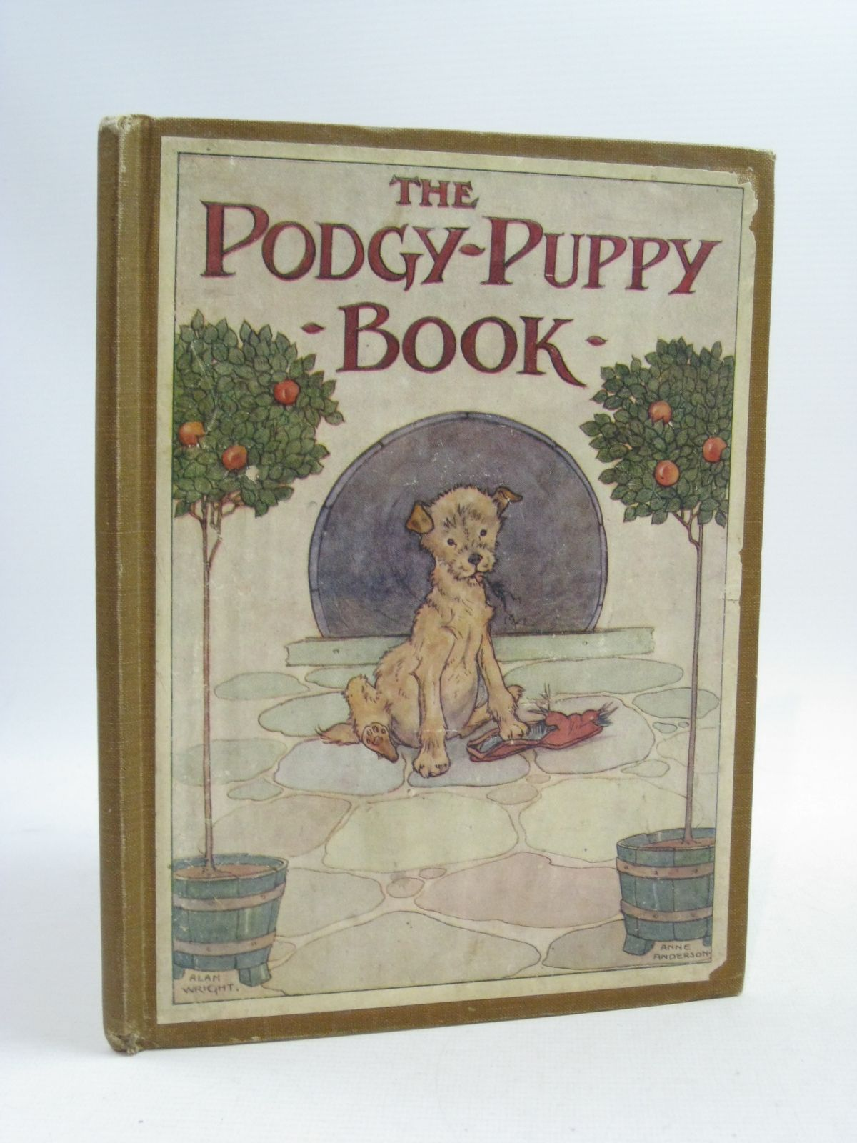 Photo of THE PODGY-PUPPY BOOK written by Dennis, Clara G. illustrated by Wright, Alan<br />Anderson, Anne published by Thomas Nelson and Sons Ltd. (STOCK CODE: 1404650)  for sale by Stella & Rose's Books
