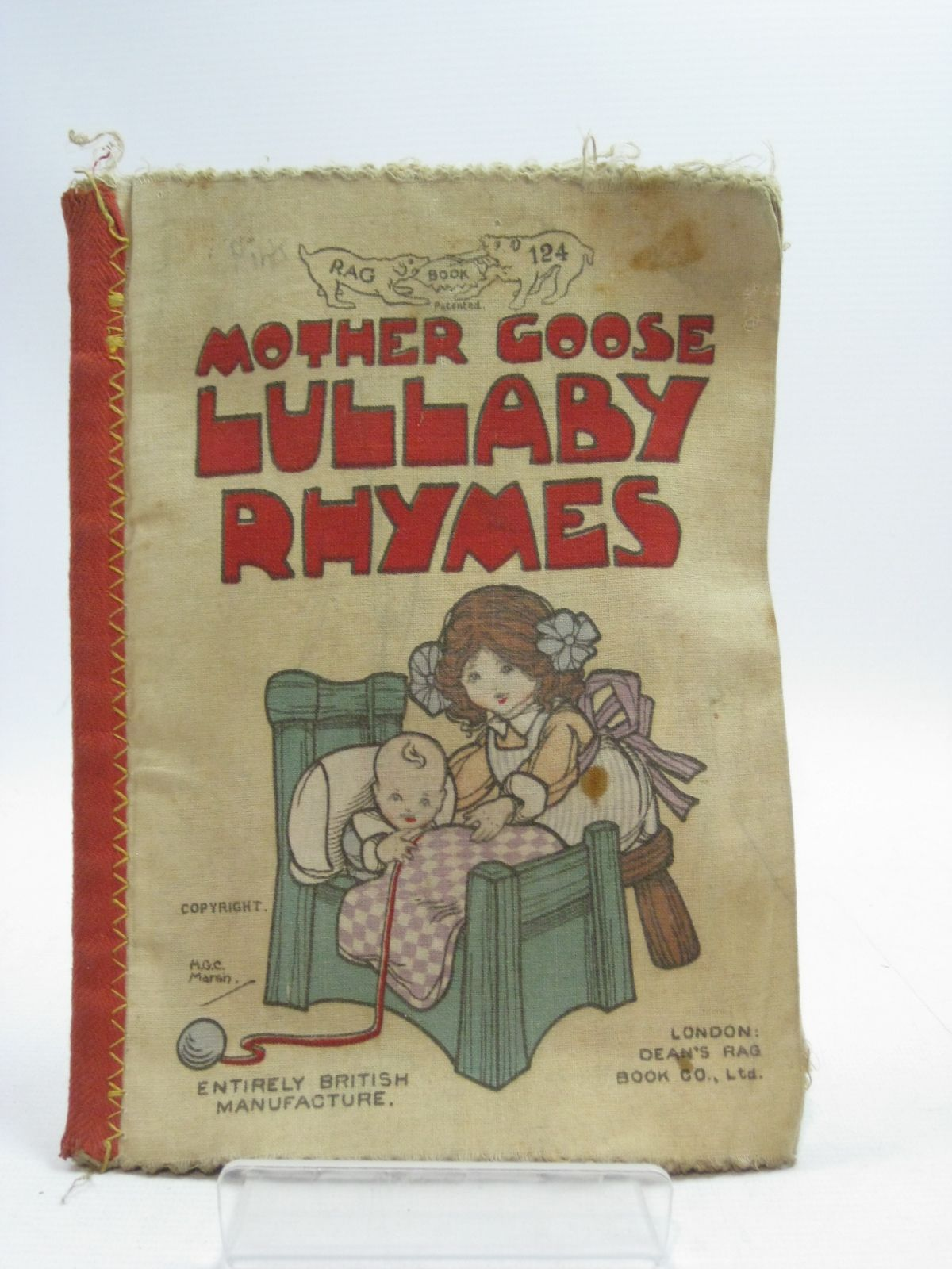 Photo of MOTHER GOOSE LULLABY RHYMES illustrated by Marsh, H.G.C. published by Dean's Rag Book Co. Ltd. (STOCK CODE: 1404669)  for sale by Stella & Rose's Books