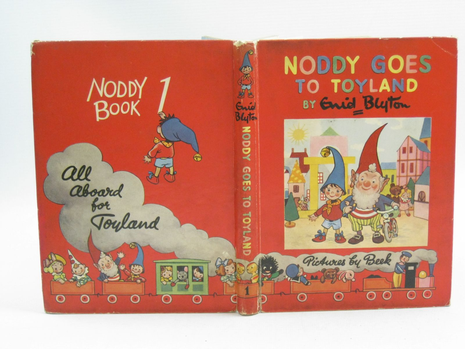 Photo of NODDY GOES TO TOYLAND written by Blyton, Enid illustrated by Beek,  published by Sampson Low, Marston & Co. Ltd. (STOCK CODE: 1404689)  for sale by Stella & Rose's Books