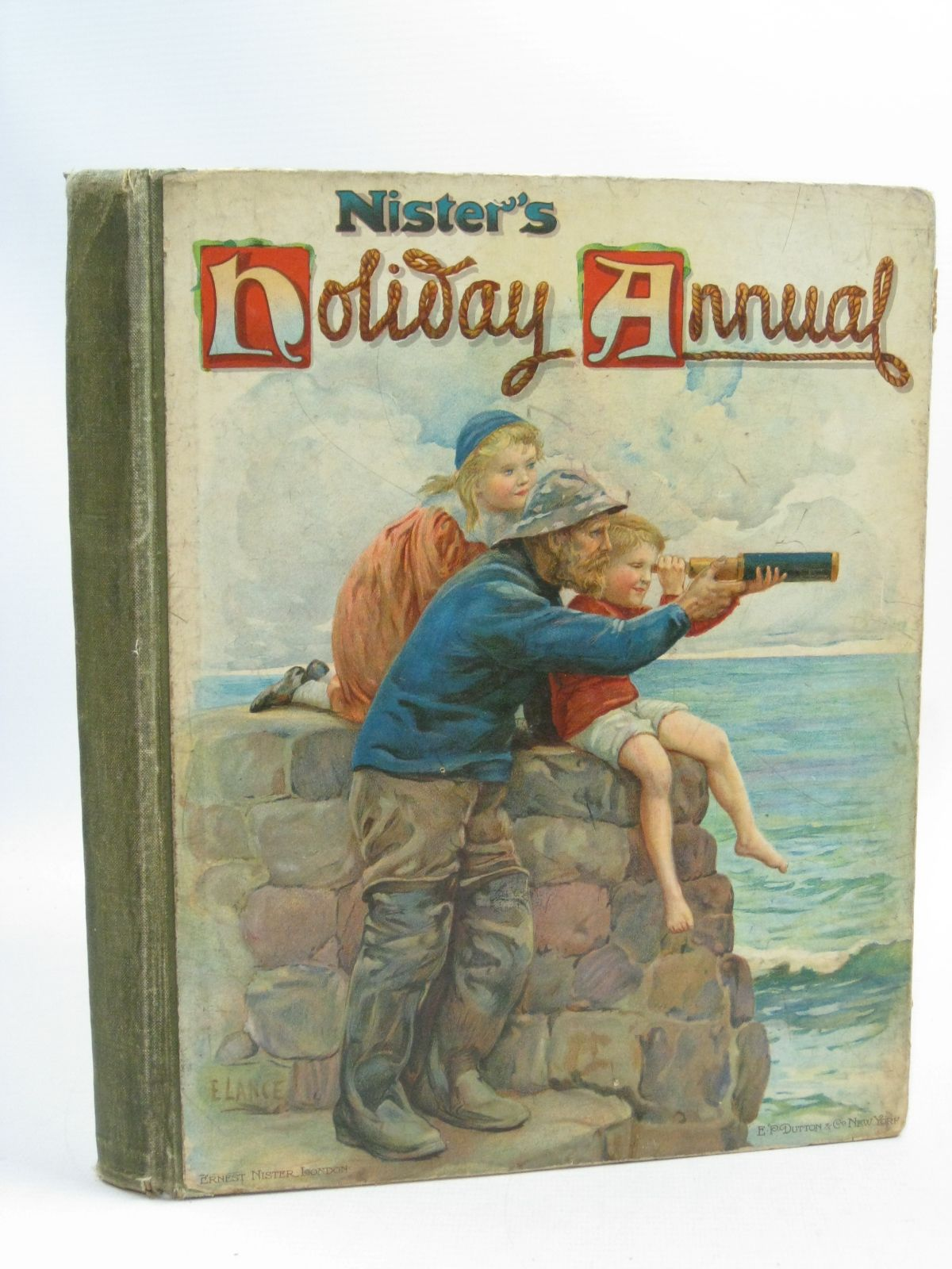 Photo of NISTER'S HOLIDAY ANNUAL FOR 1907 written by Playne, Alfred C. Fenn, George Manville Bingham, Clifton et al, illustrated by Hardy, E. Stuart Cubitt, Edith A. et al., published by Ernest Nister, E.P. Dutton & Co. (STOCK CODE: 1404723)  for sale by Stella & Rose's Books